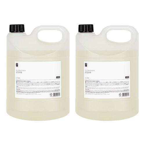 생활공작소 주방세제 자몽향, 4L, 2개입