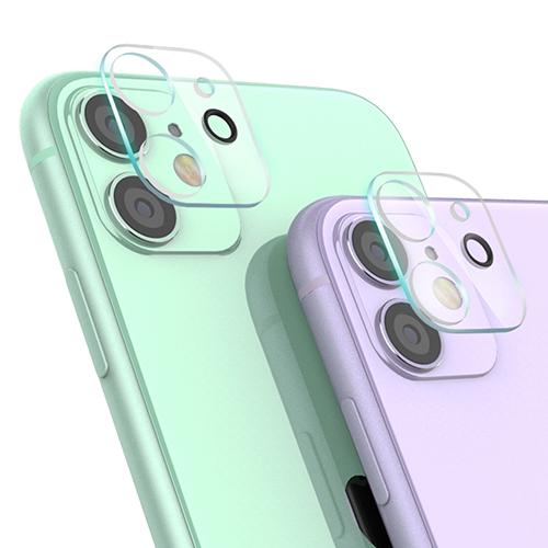 신지모루 휴대폰 카메라 렌즈 강화 유리 보호필름 2p, 1세트
