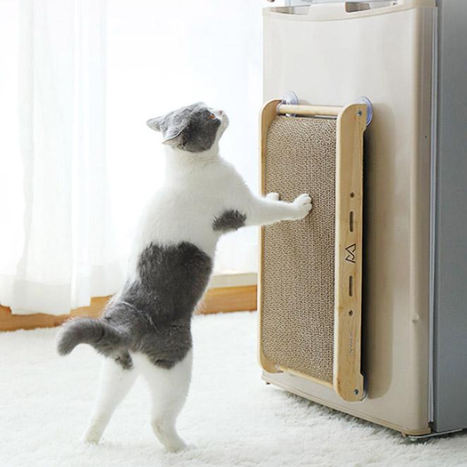 딩동펫 반려동물 고양이 수직스크래쳐, 혼합색상, 1개