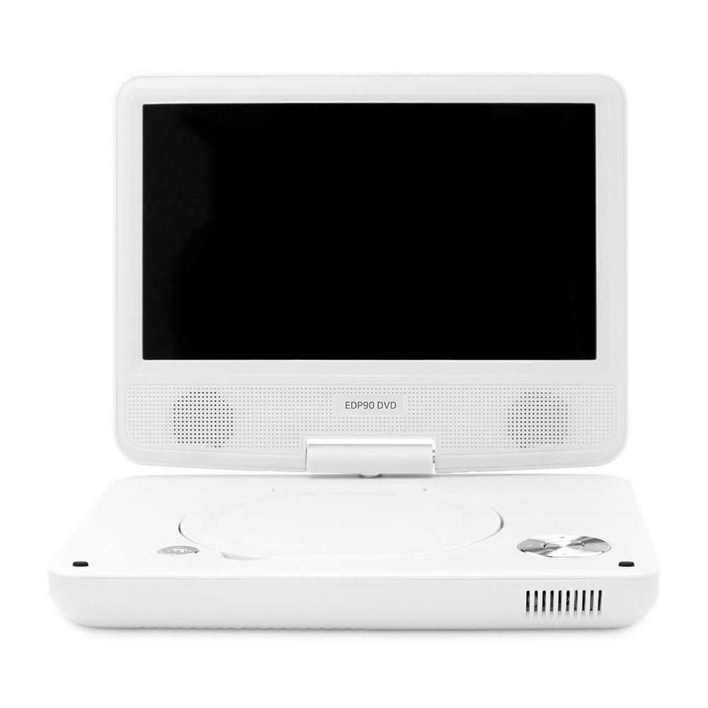 에듀플레이어 휴대용 DVD 플레이어 화이트, EDP90S