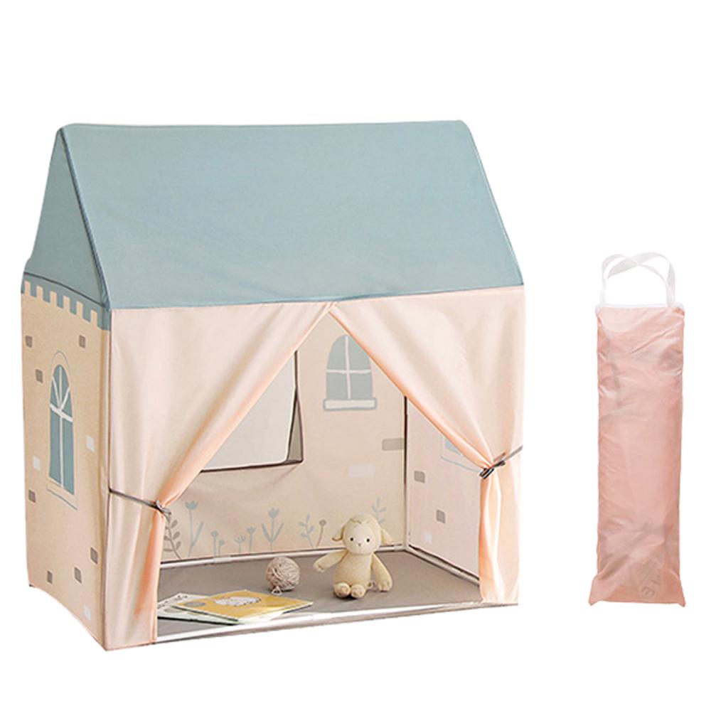 룸앤홈 하우스 키즈텐트 + 수납가방 핑크, 숲속작은집