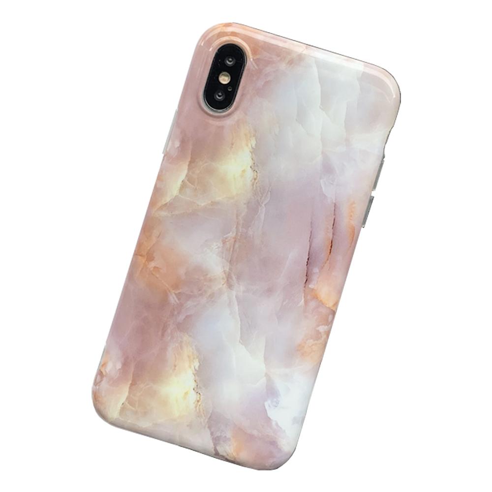 미퓨어 코로르 핑크 대리석 휴대폰 케이스