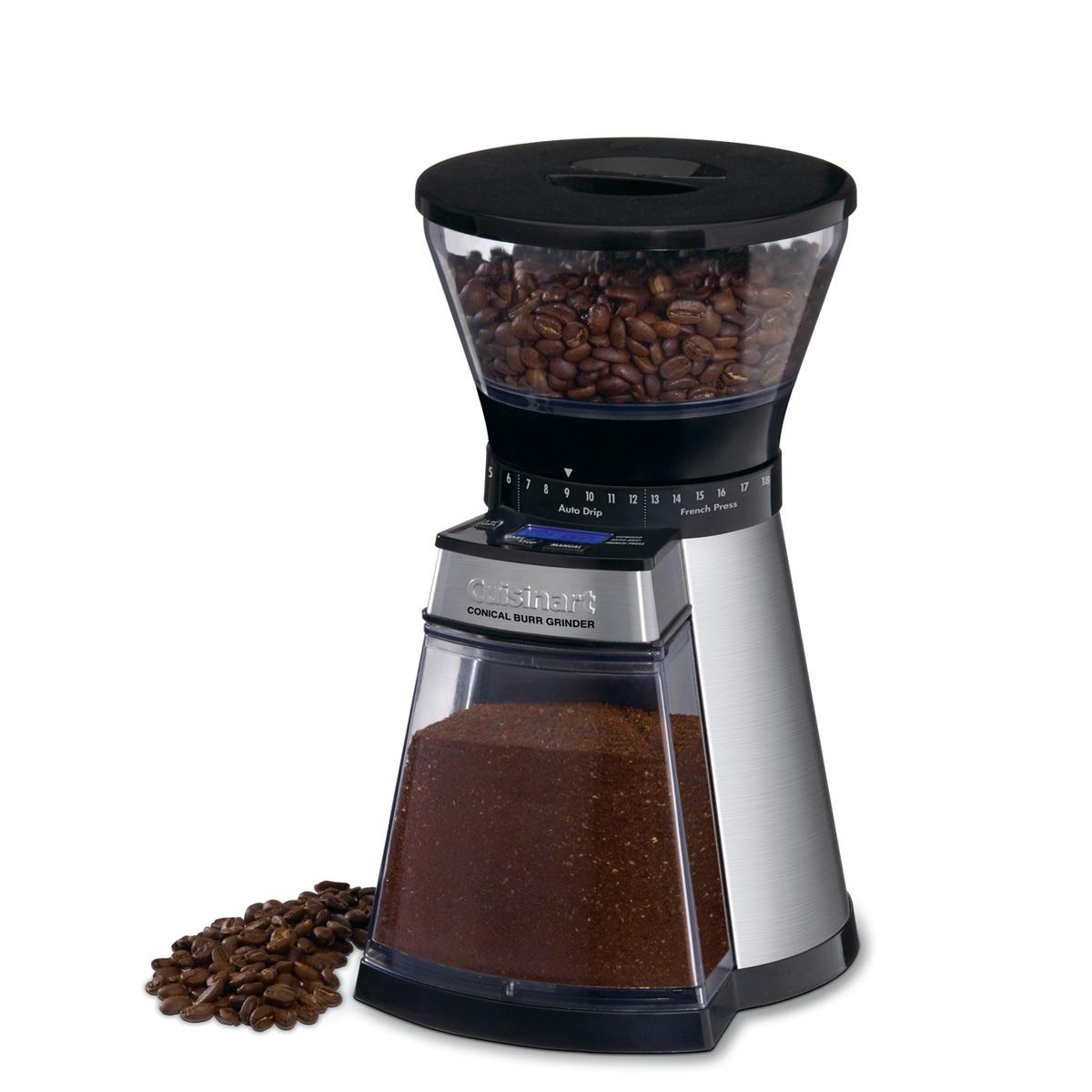 쿠진아트 프리미엄 전동 커피 그라인더, CBM-18NKR