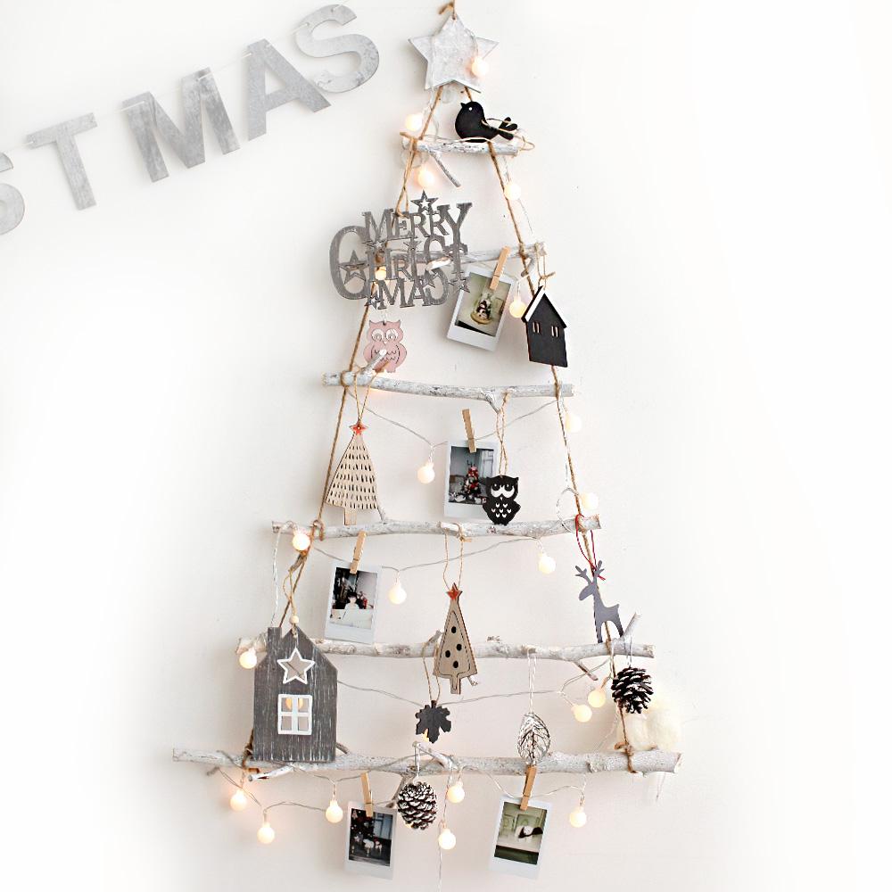 조아트 크리스마스 내츄럴 벽트리 + 뽀숑루돌프, 내츄럴그레이