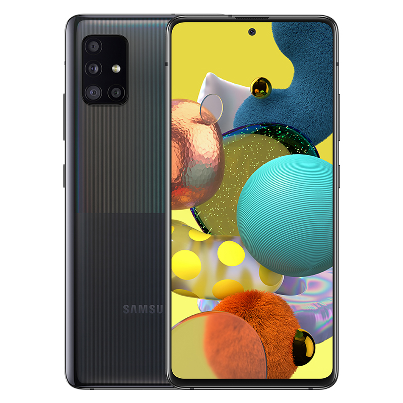 삼성전자 갤럭시 A51 5G 휴대폰 SM-A516N, 공기계, 프리즘 큐브 블랙, 128GB