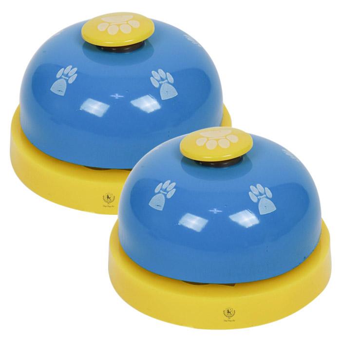 딩동펫 강아지 지능개발 훈련벨 4 x 7 cm, 블루, 2개입