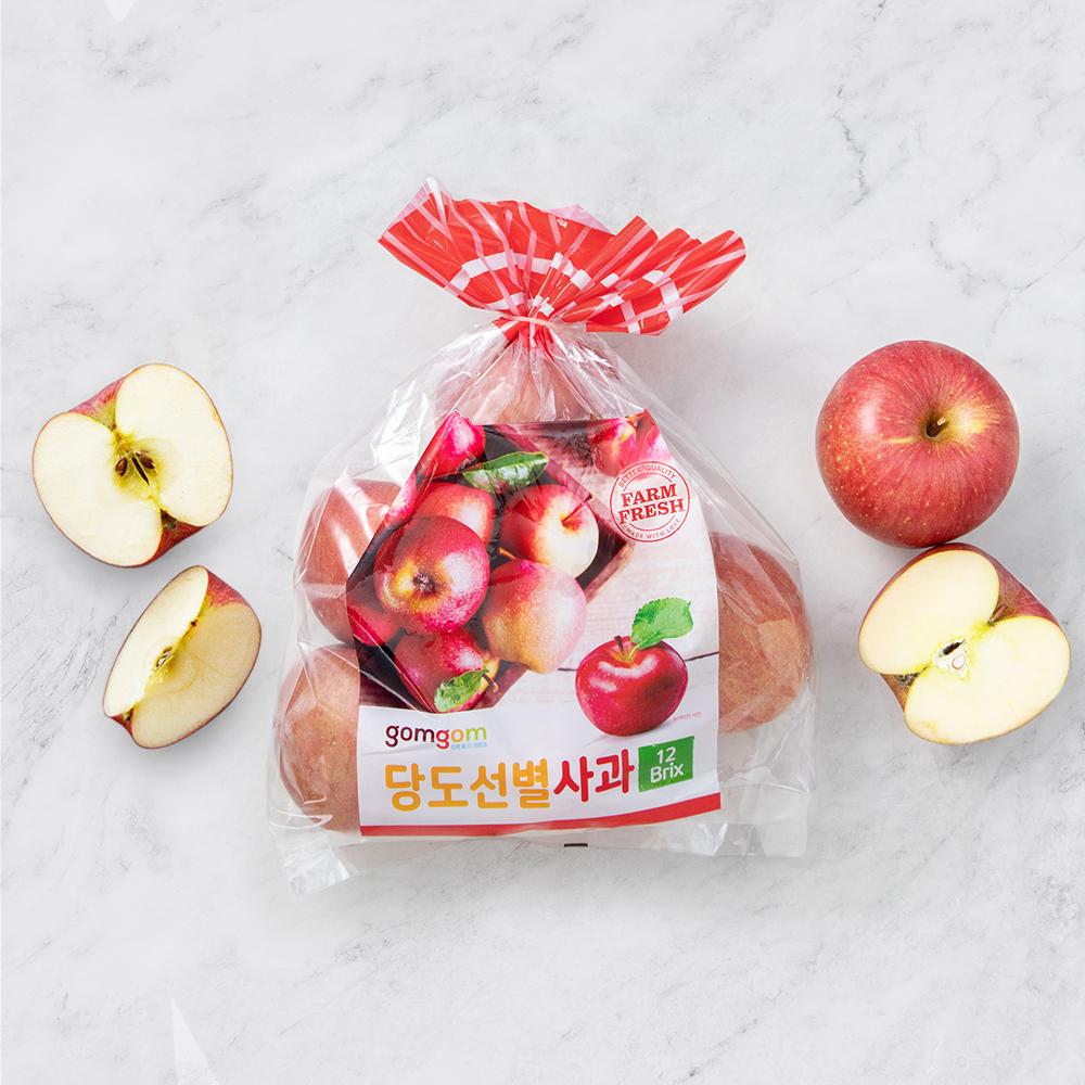 곰곰 당도선별 햇사과, 1.5kg, 1봉