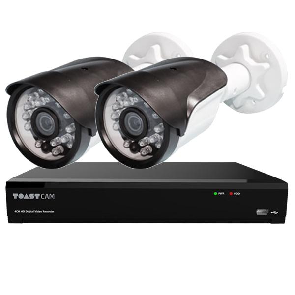 FHD 210만 화소 CCTV 실속 자가설치 패키지 세트, 단일상품