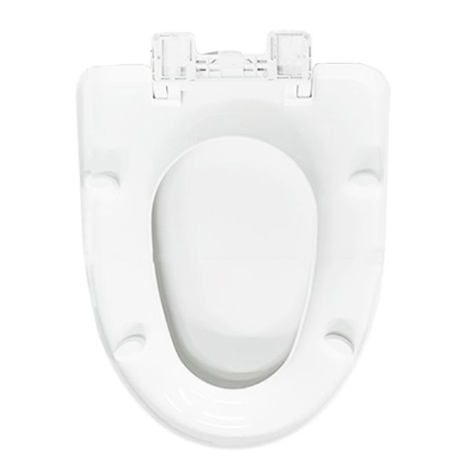 대림바스 변기커버 특대형, 화이트, 1개