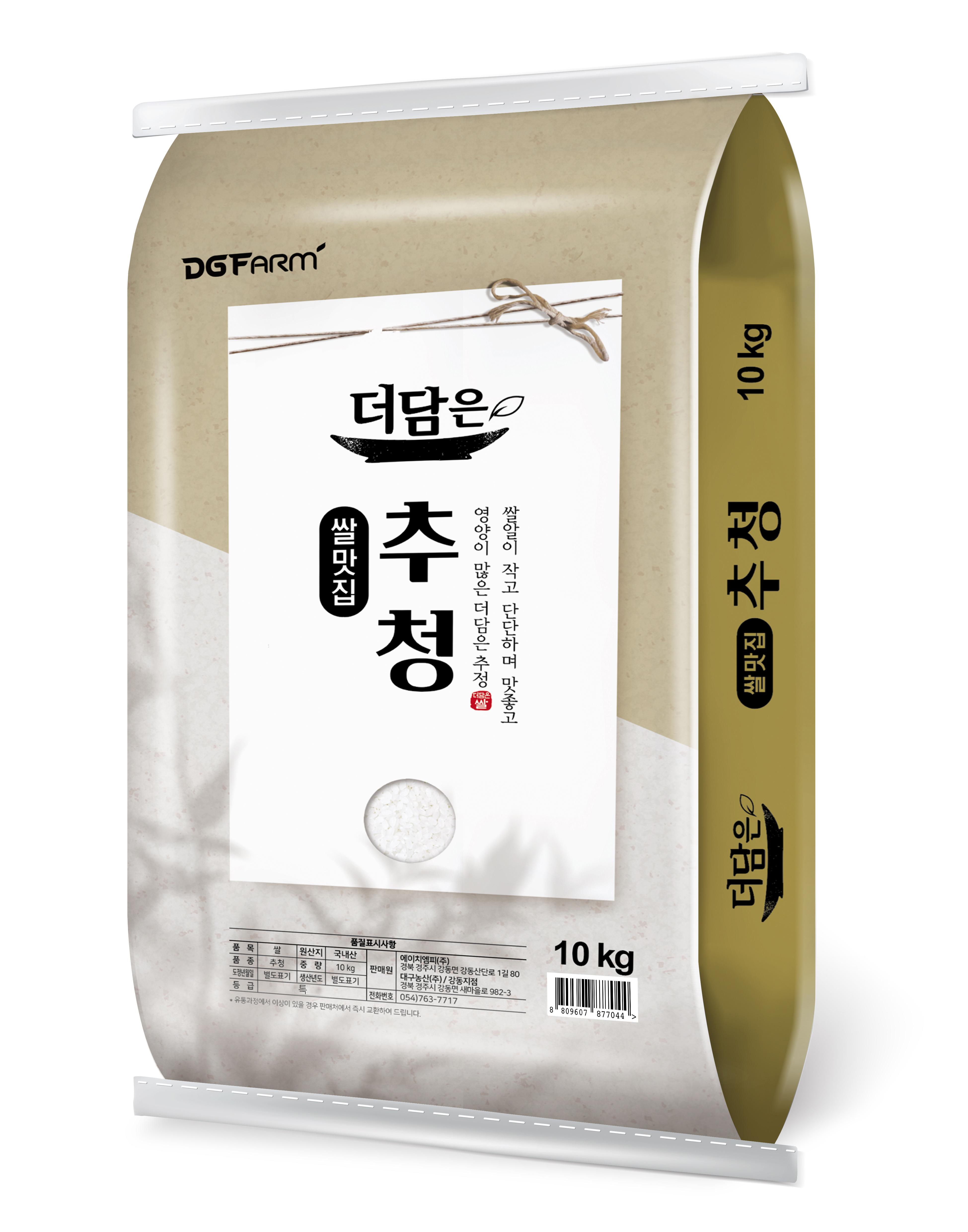 [Gold box] 대구농산 더담은 2020년 경기미 추청쌀, 10kg (특등급), 1개 - 랭킹1위 (33900원)