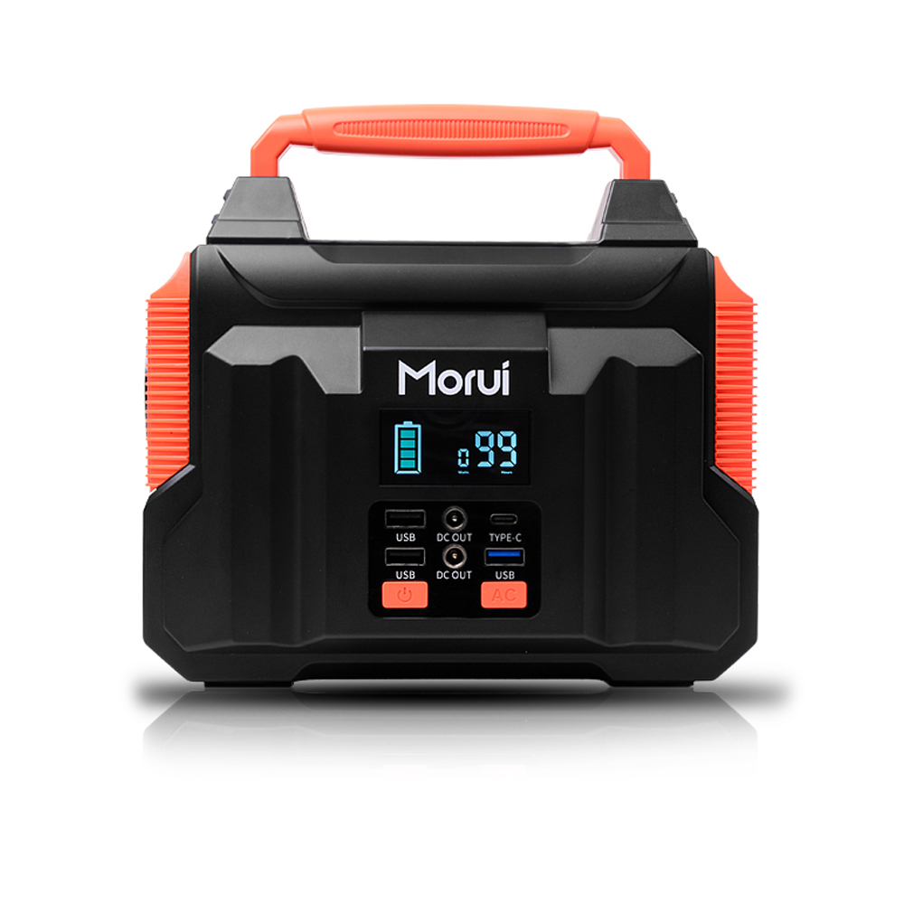 모루이 캠핑용 대용량 보조배터리 60000mAh, MC200, 혼합색상