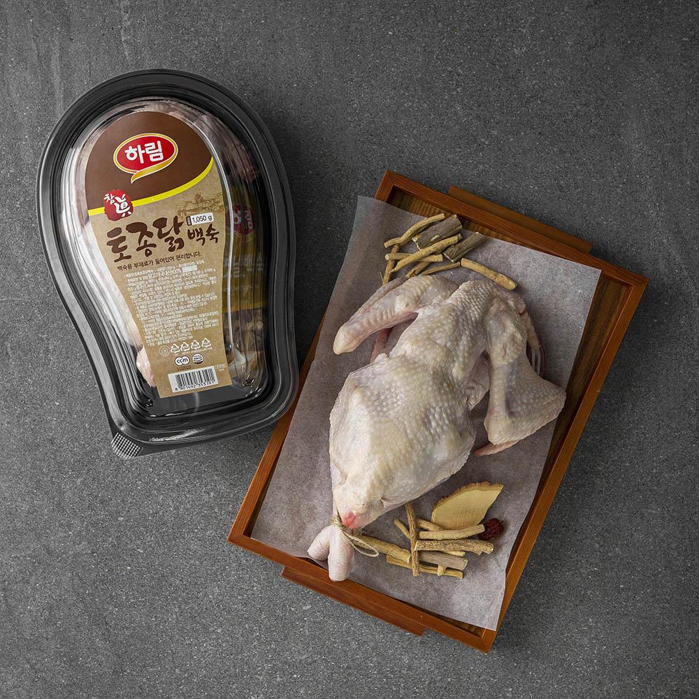 하림 참 토종닭 백숙용 (냉장), 1100g, 1개