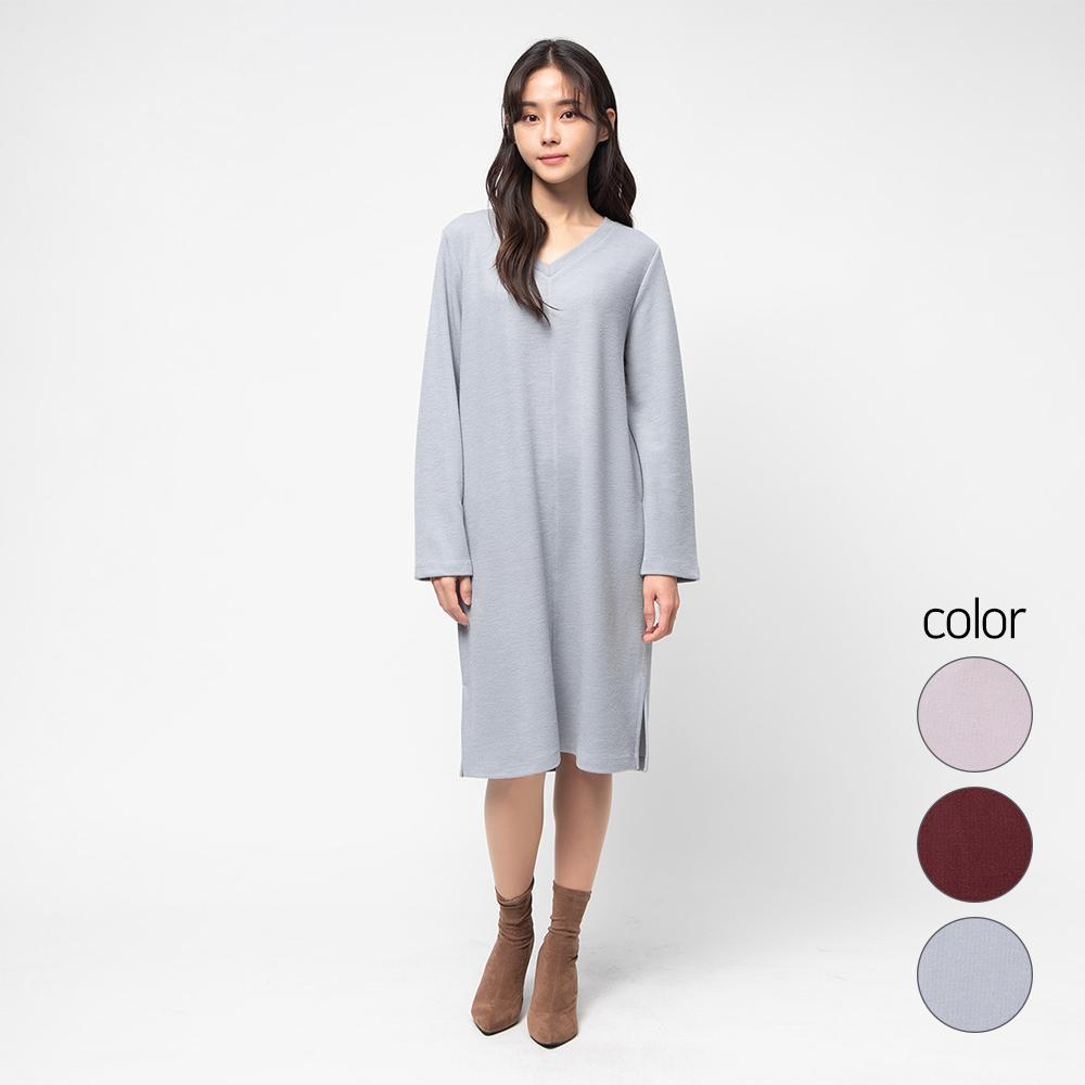 캐럿 여성용 코지 스니트 드레스