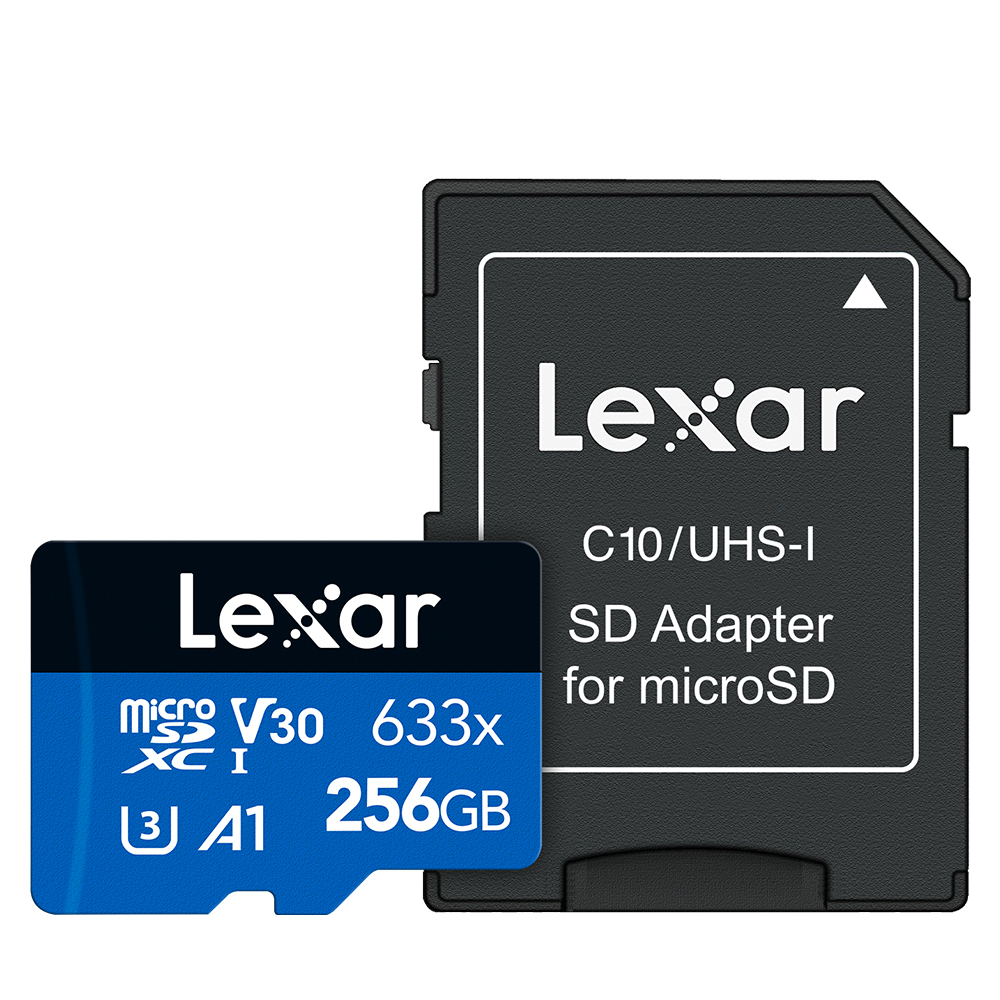 렉사 하이퍼포먼스 microSDXC 메모리카드 CLASS10, 256GB