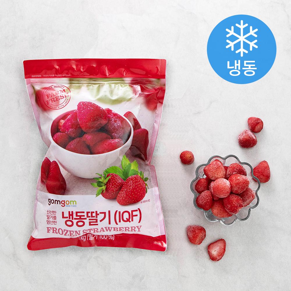 곰곰 냉동 딸기, 1kg, 1개