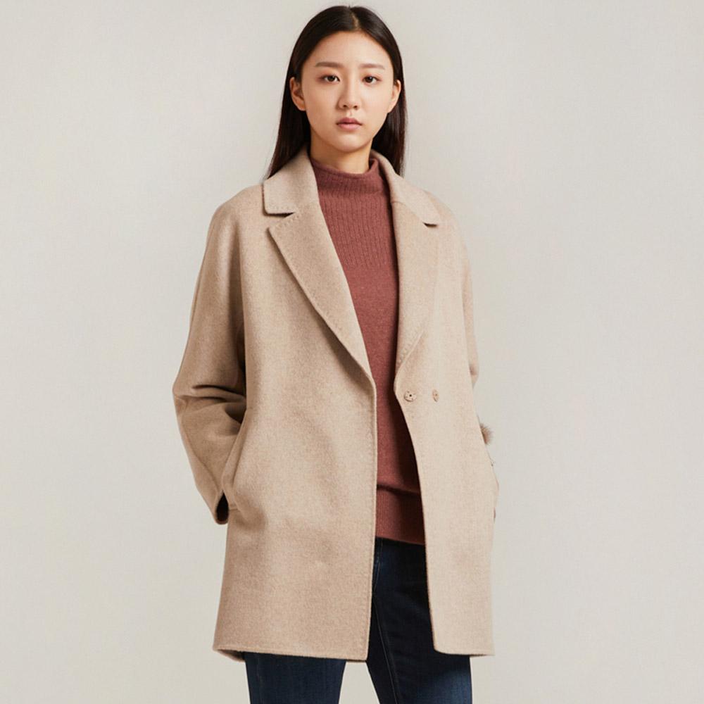 올리비아로렌 여성용 브로치장식 핸드 코트 VOCEAWW9411