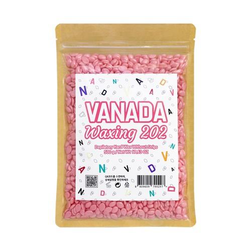 VANADA 바나다왁싱 202 하드왁스 셀프 제모 재료, 1개, 500g