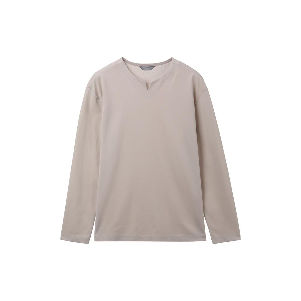 마인드브릿지 남성 스판 넥변형 티셔츠 MUTS0121