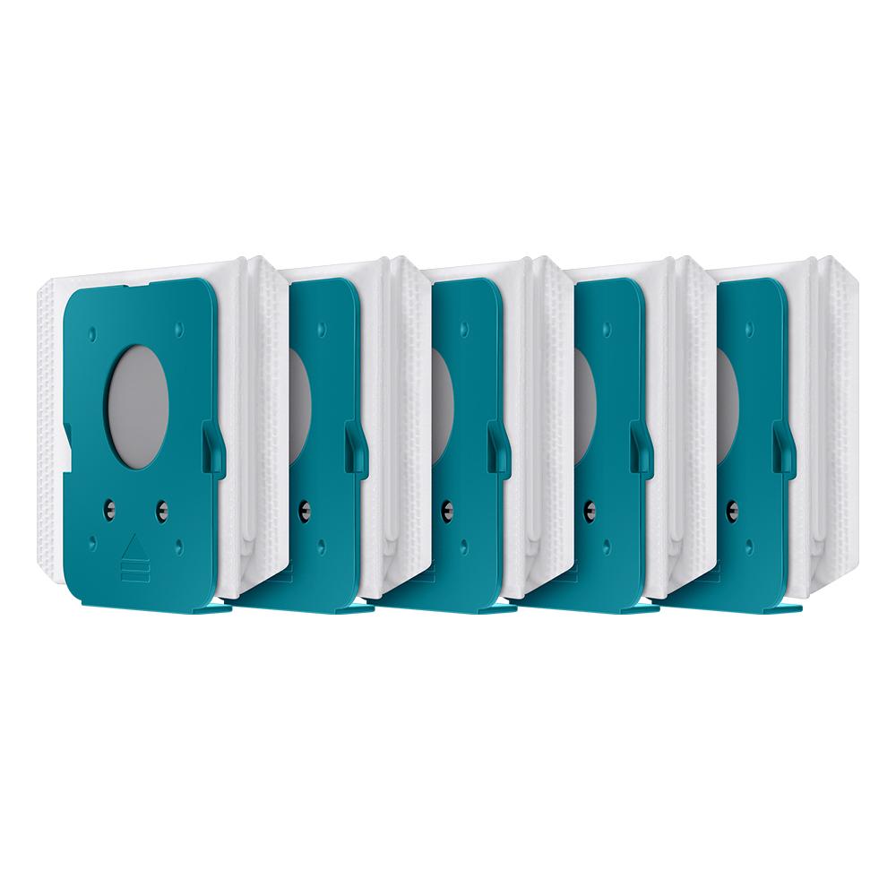 [삼성 청소기] 삼성전자 BESPOKE 제트용 청정스테이션 먼지봉투 화이트, VCA-ADB95, 5개 - 랭킹5위 (12000원)