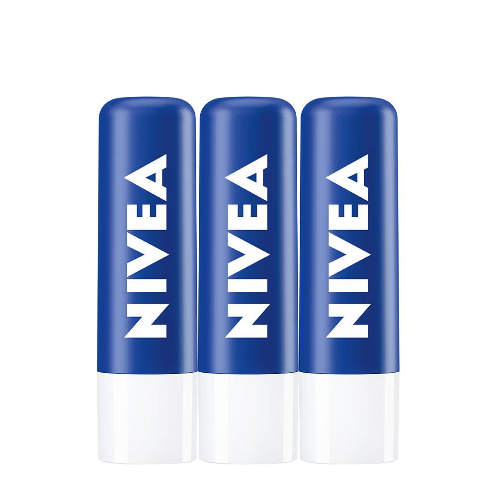 니베아 립케어, 무색, 3개