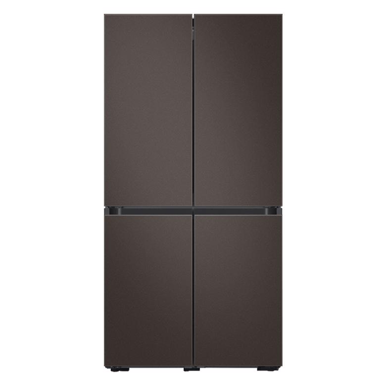 삼성전자 비스포크 4도어 냉장고 RF85T9141AP 16 870L 방문설치, 코타 차콜, 코타 차콜, 코타 차콜, 코타 차콜