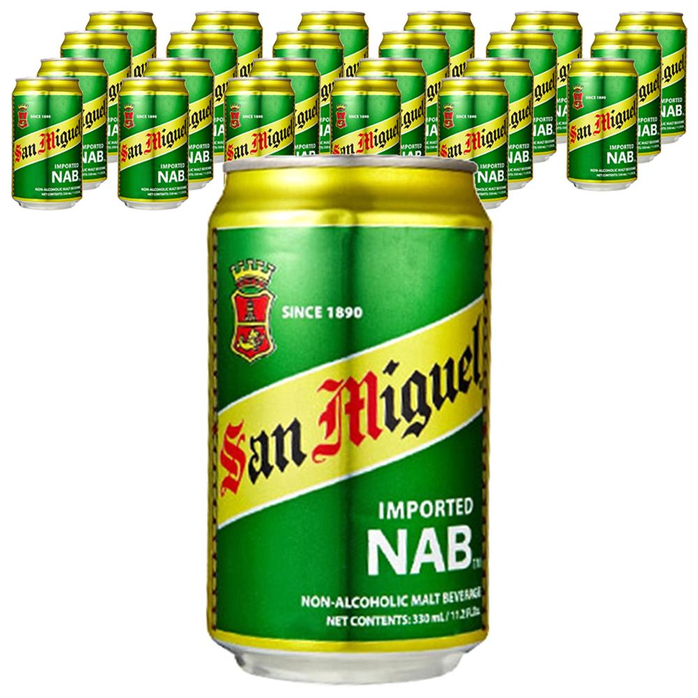 산미구엘 무알콜 맥주맛음료 330ml, 24개
