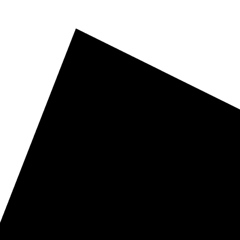 현진아트 원단 칼라 보드롱 우드락 BO 흑색 600 x 900 mm, 5mm, 10개