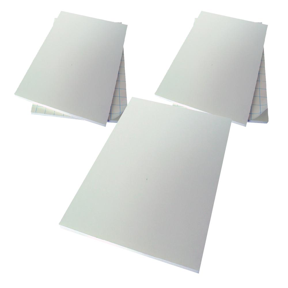 현진아트 C 하드 폼보드 CHF 백색 600 x 900 mm, 5mm, 5개