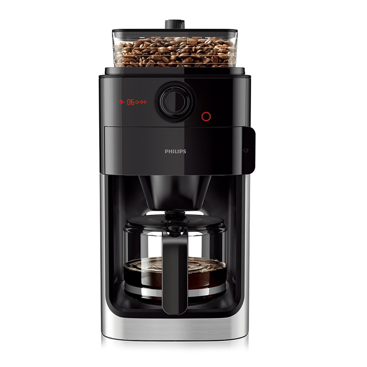 [필립스 커피메이커] 필립스 그라인드 앱 드립 커피메이커, HD7761/00 - 랭킹1위 (139700원)