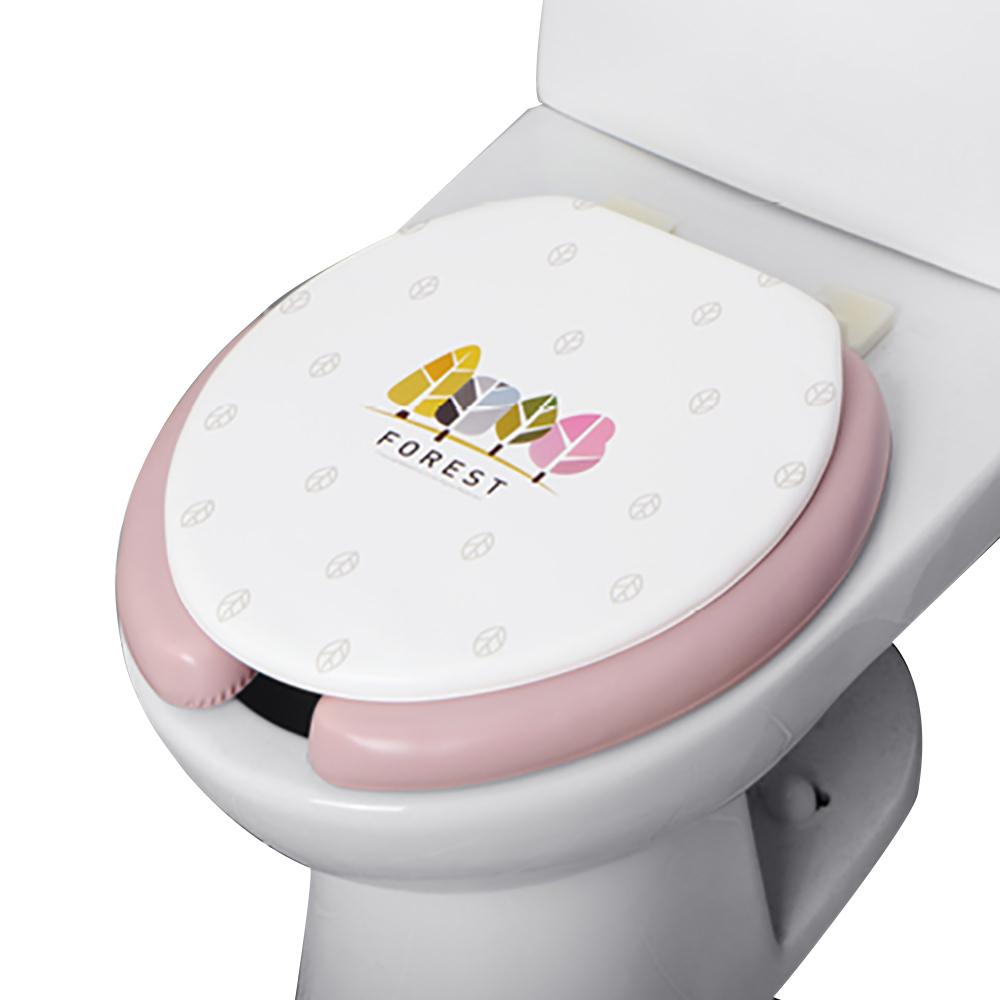 니드코 포레스트 변기 커버 U형 중, 핑크, 1개