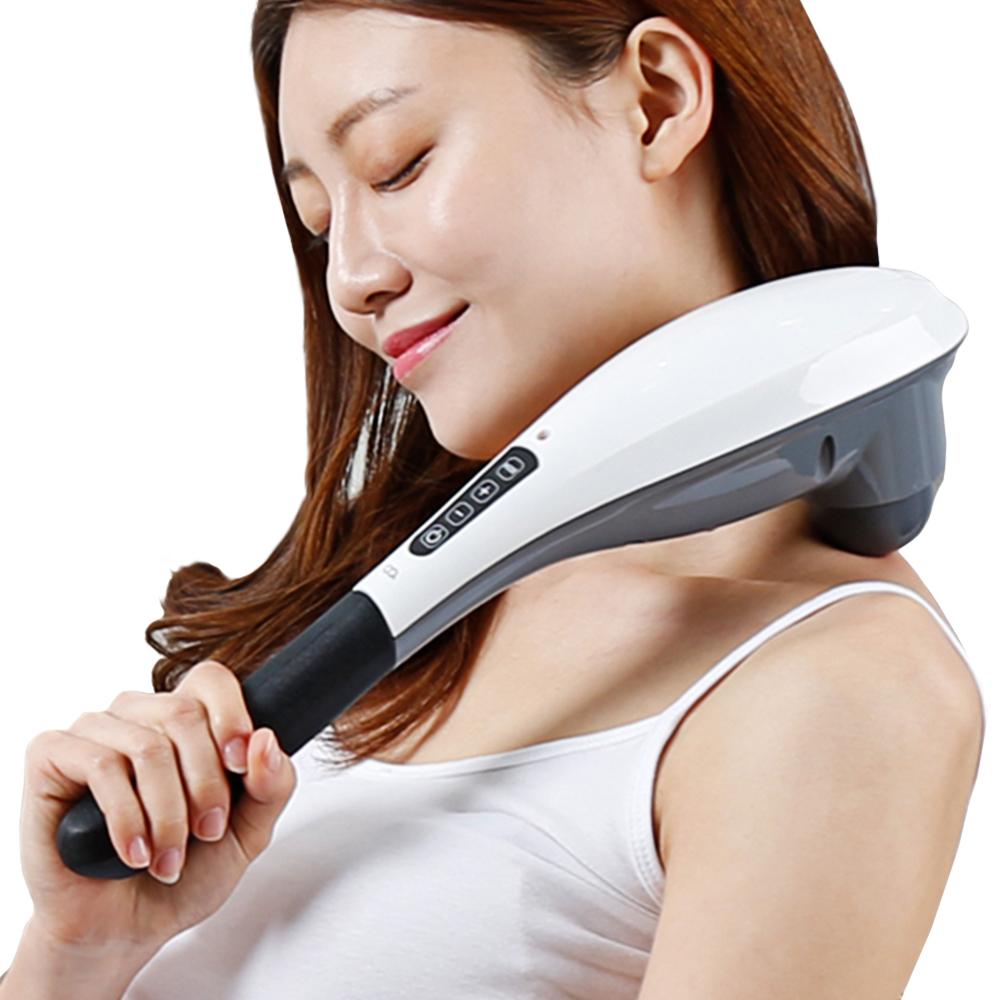 오아 두드림 무선 핸드 안마기 목 어깨 핸디 마사지기, OA-MA200(화이트)