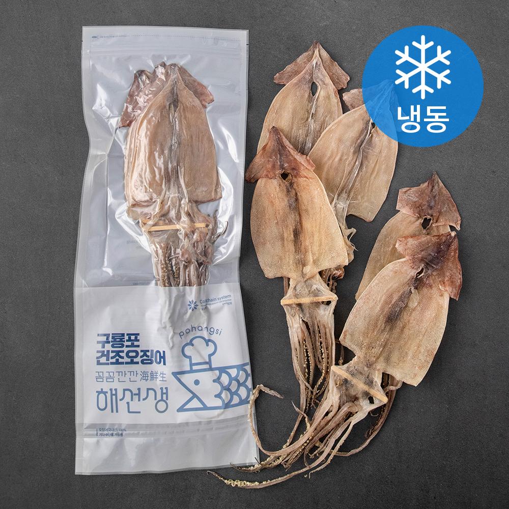 포항시인증 구룡포 건오징어 국산 (냉동), 225g(5미), 1개
