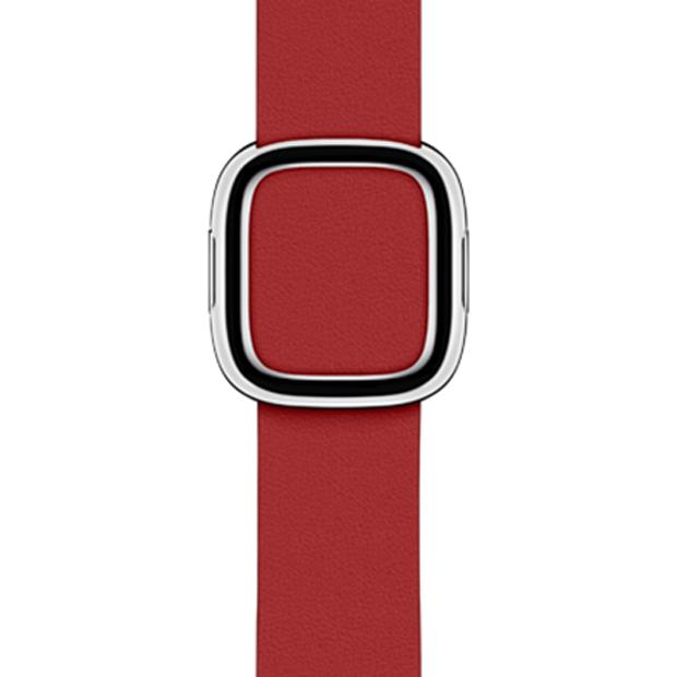 Apple 정품 애플워치 모던 버클 밴드 (PRODUCT)RED Large 40mm MTQV2FE/A, 레드, 1개