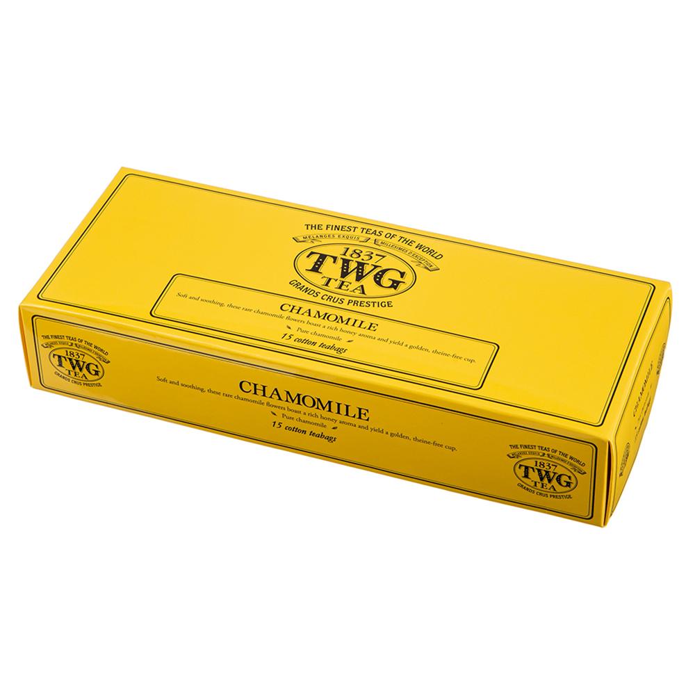 TWG 카모마일 티백, 2.5g, 15개