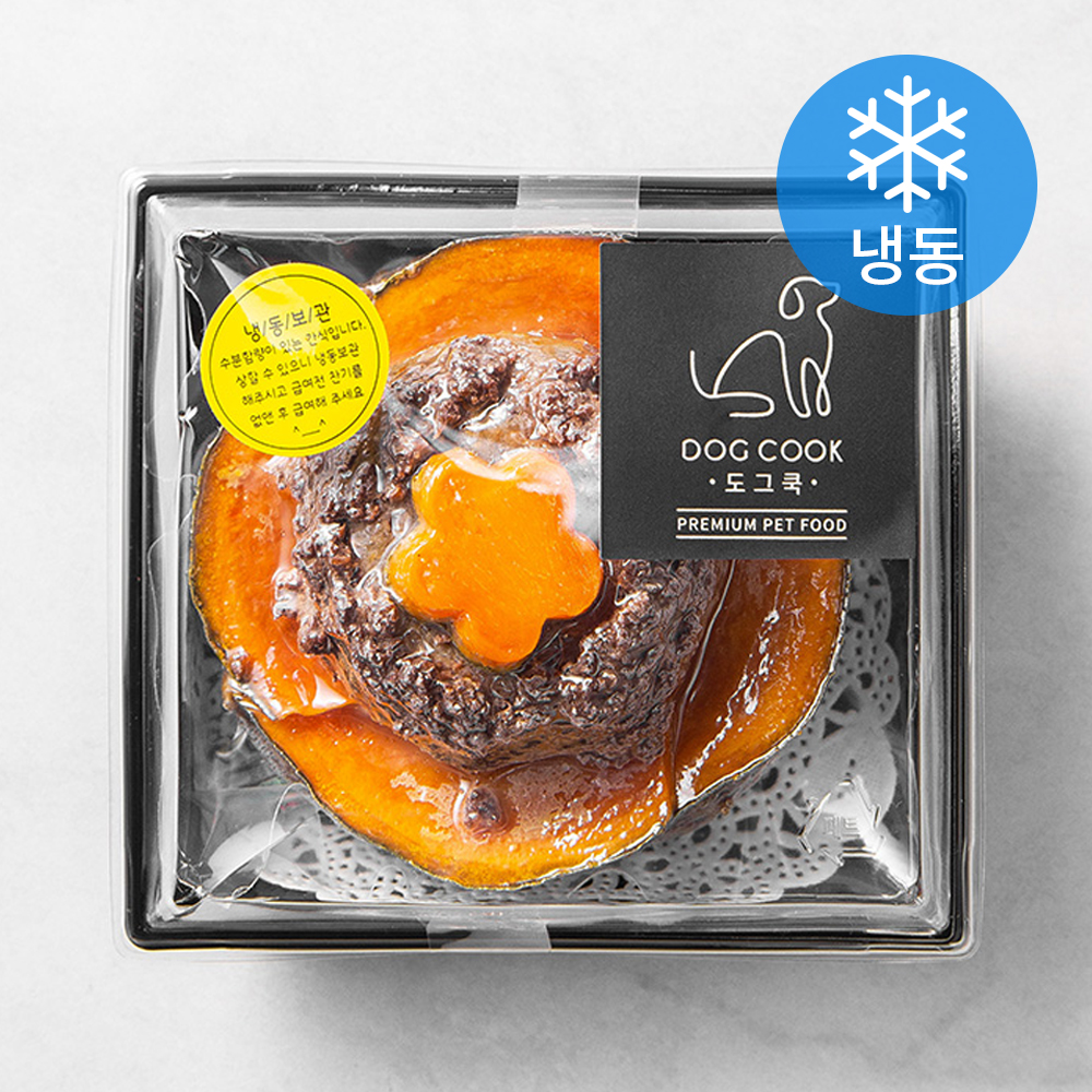 도그쿡 소고기 단호박케이크 (냉동), 단호박, 1개