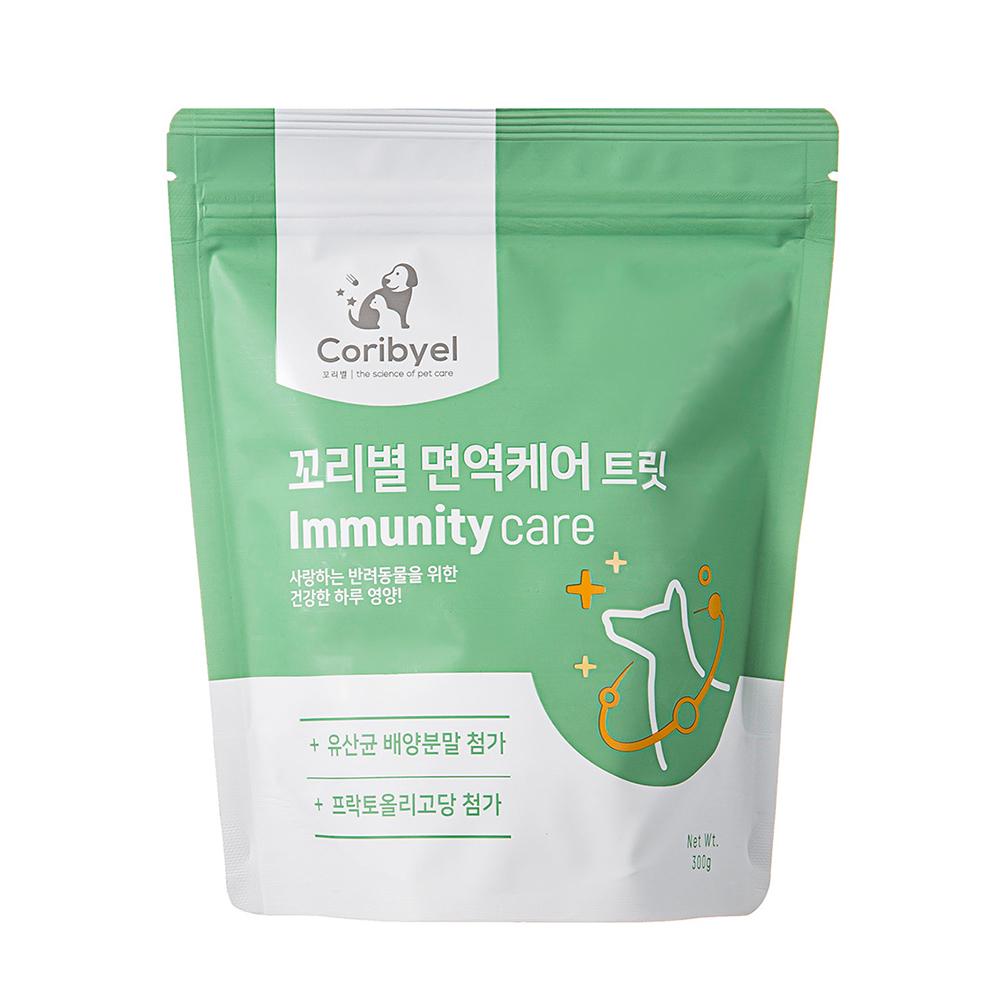 쿠팡 브랜드 - 꼬리별 강아지 뉴트리션 트릿 면역케어 300g, 1개