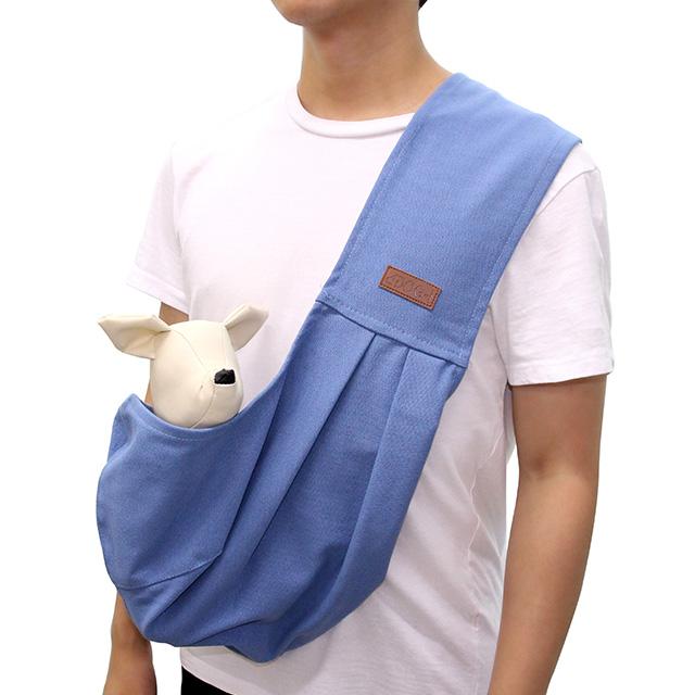 도그아이 강아지 에코슬링백, 블루