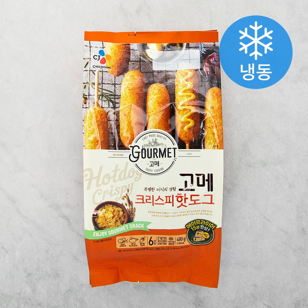 고메 핫도그 크리스피 (냉동), 480g, 1개