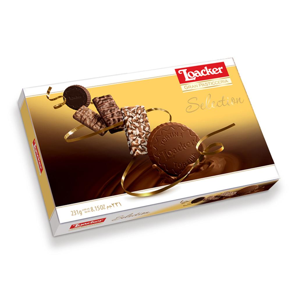 로아커 그랑파스티체리아 셀렉션 초콜릿 스낵, 231.4g, 1개