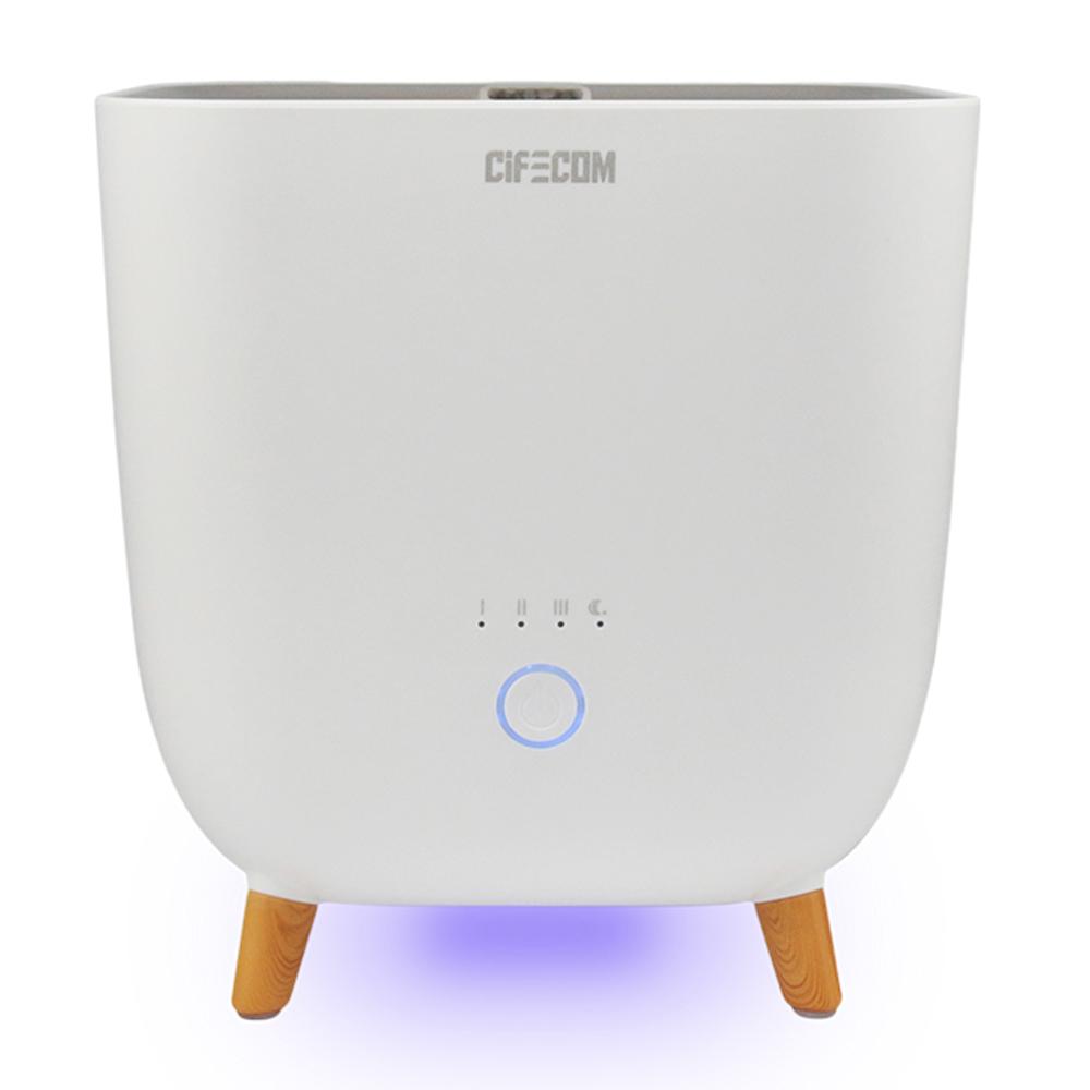 시프이컴 냉온 무드등 초음파 가열 복합식 가습기 2.8L, CIF-913