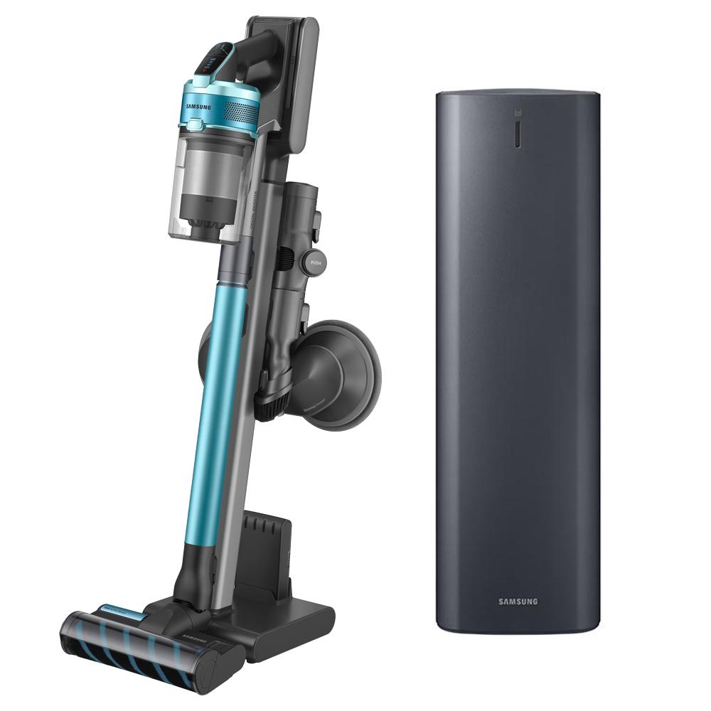 삼성전자 제트2.0 무선청소기 VS20T9257SECS 청정스테이션 스페셜에디션, VS20T9257SE, 티탄 + 민트-8-2286650315