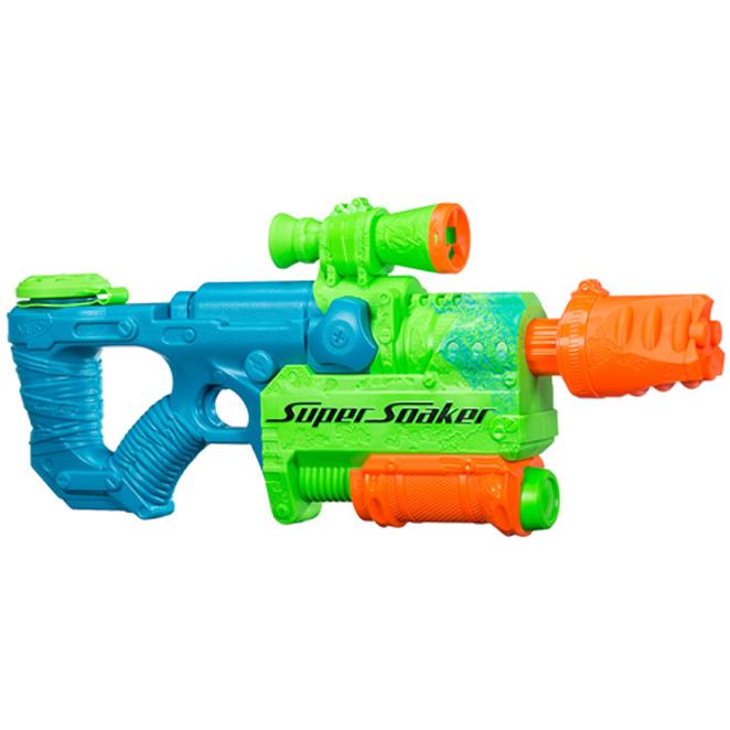 너프 수퍼소커 좀비네이터 물총, 혼합 색상 (POP 178952535)