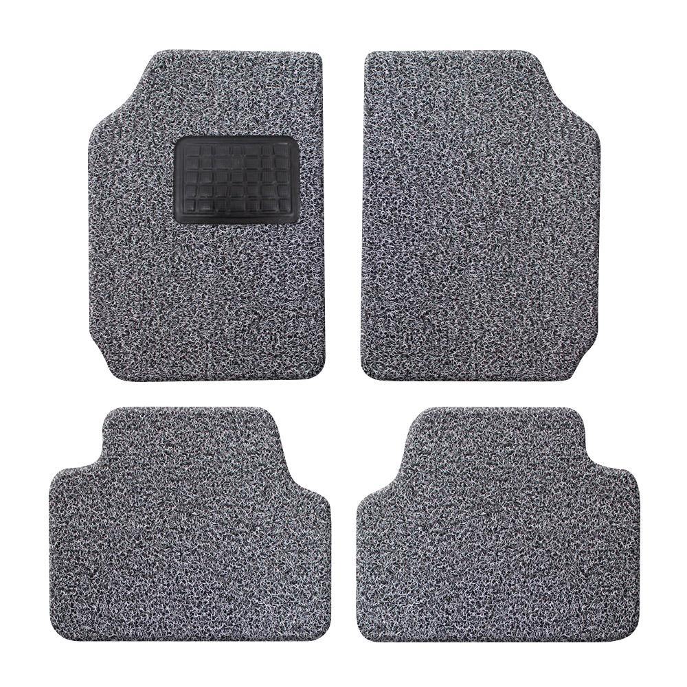 순수 DIY 자동차 코일매트 20mm 그레이블랙 4p 세트, 전차종 공용