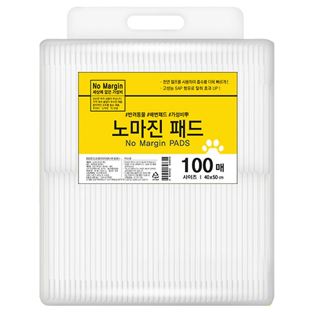 노마진 반려견 배변패드 100매입, 1개