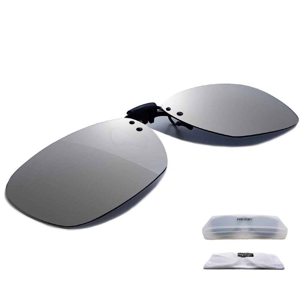 팬톤 플립업 편광 클립선글라스 + 전용 케이스 + 전용 파우치