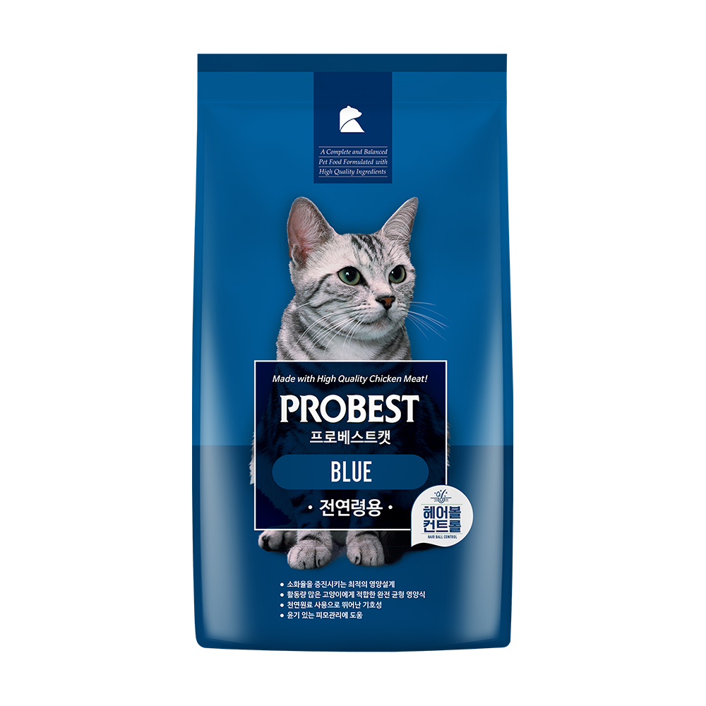 프로베스트 캣 블루 사료, 15kg, 1개