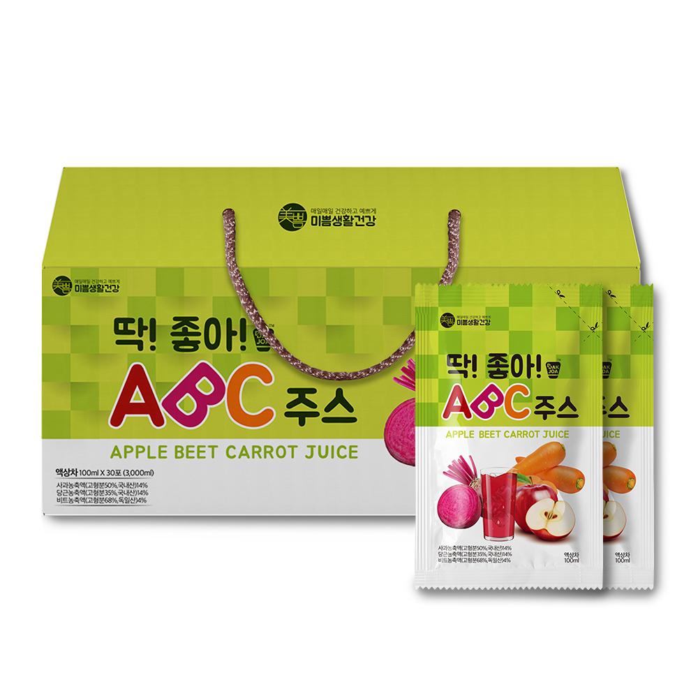 [Gold box] 딱좋아 ABC 주스, 100ml, 30개 - 랭킹1위 (13360원)