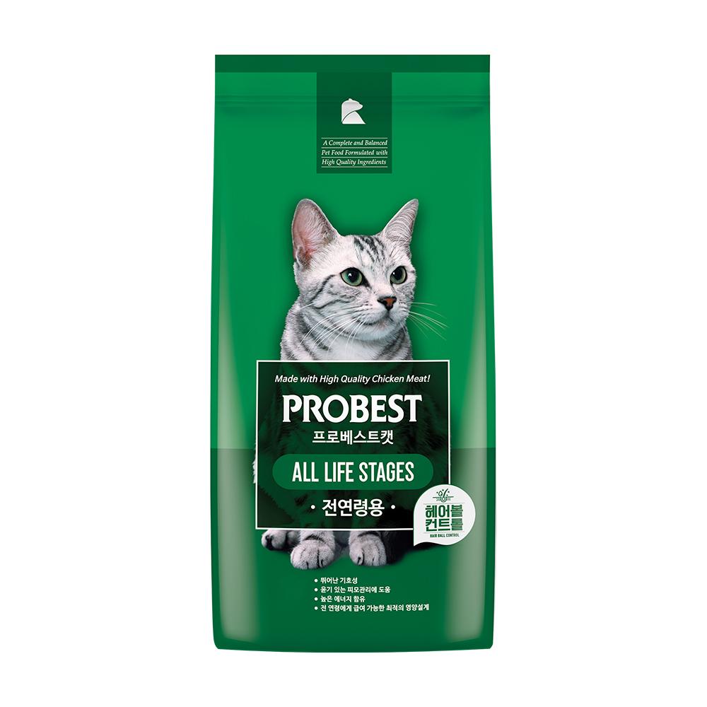 프로베스트 캣 전연령 고양이 사료, 5kg, 1개