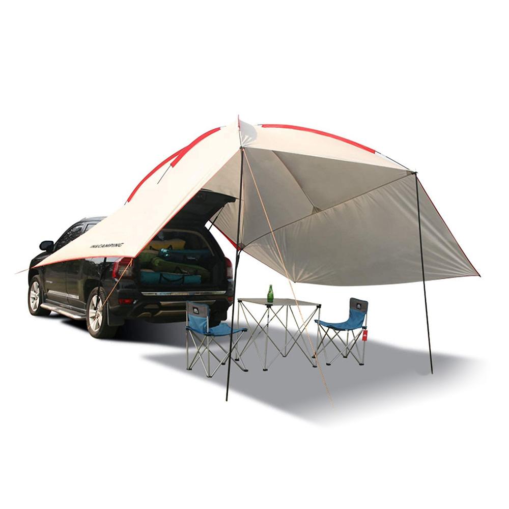 인앤캠핑 캠핑용 차박텐트 + 전용가방, 화이트