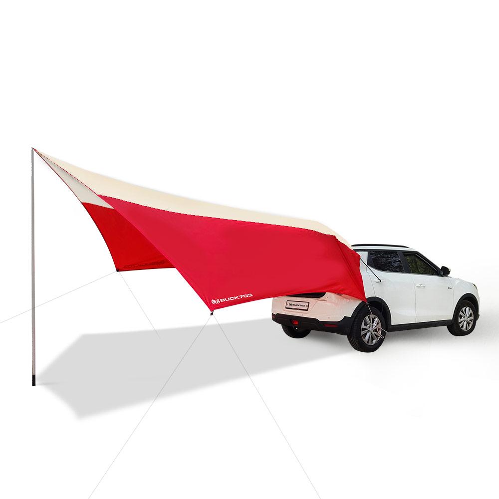 벅703 프리미엄 차박도킹타프 SUV S, 레드